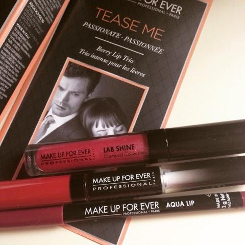 Make Up For Ever Lip Berry Trio