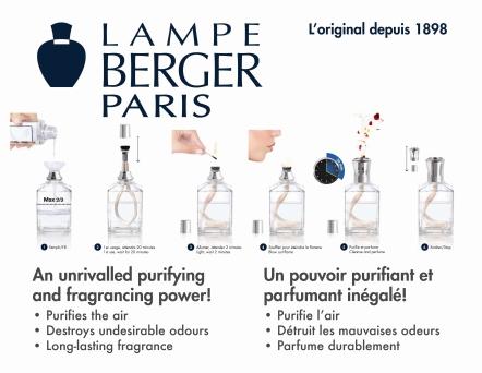 LAMPE BERGER RITUAL