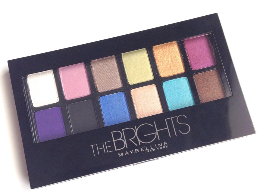The Brights Palette from Maybelline -Review
