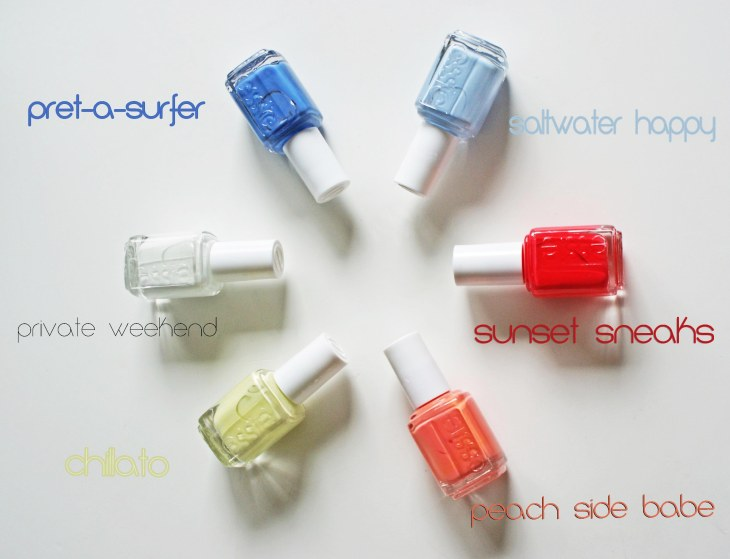 Essie 2015 Summer Collection