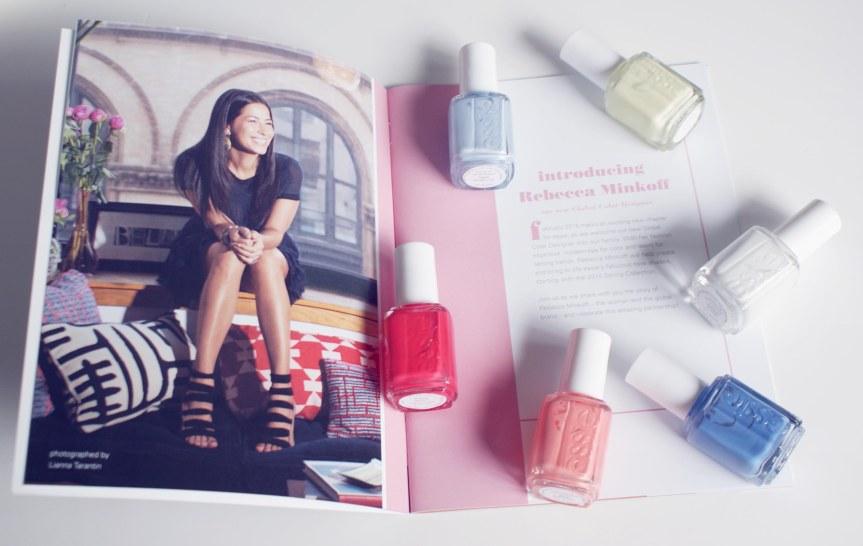 Essie Summer 2015 Collection – Rebecca Minkoff – Essie's New Global ColorDesigner!