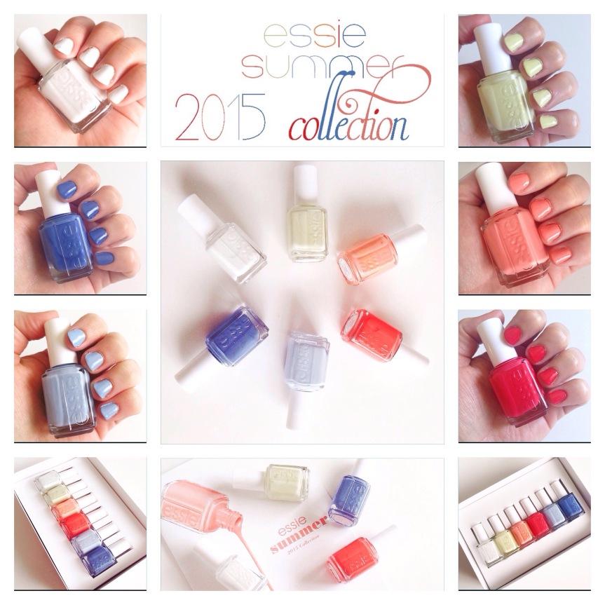 Essie Summer 2015 Collection –Swatches