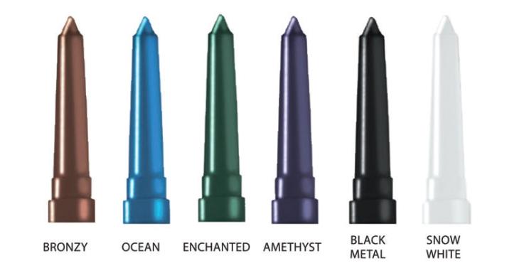 eyeliners metallics