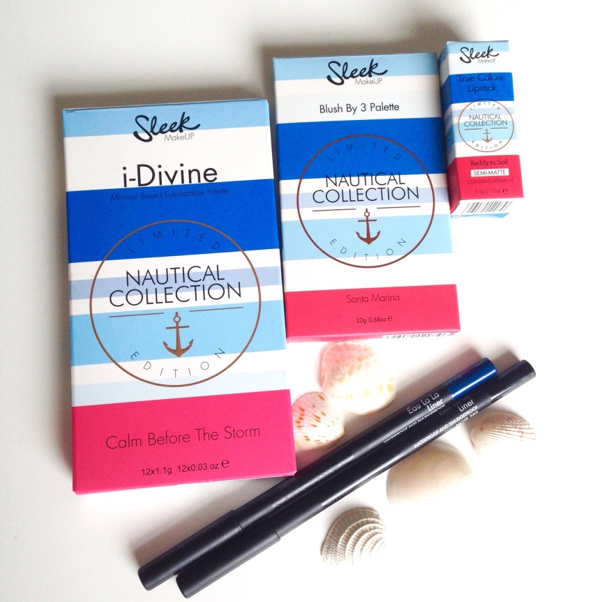 Sleek MakeUP- Limited Edition Nautical Collection | REVIEW and SWATCHES