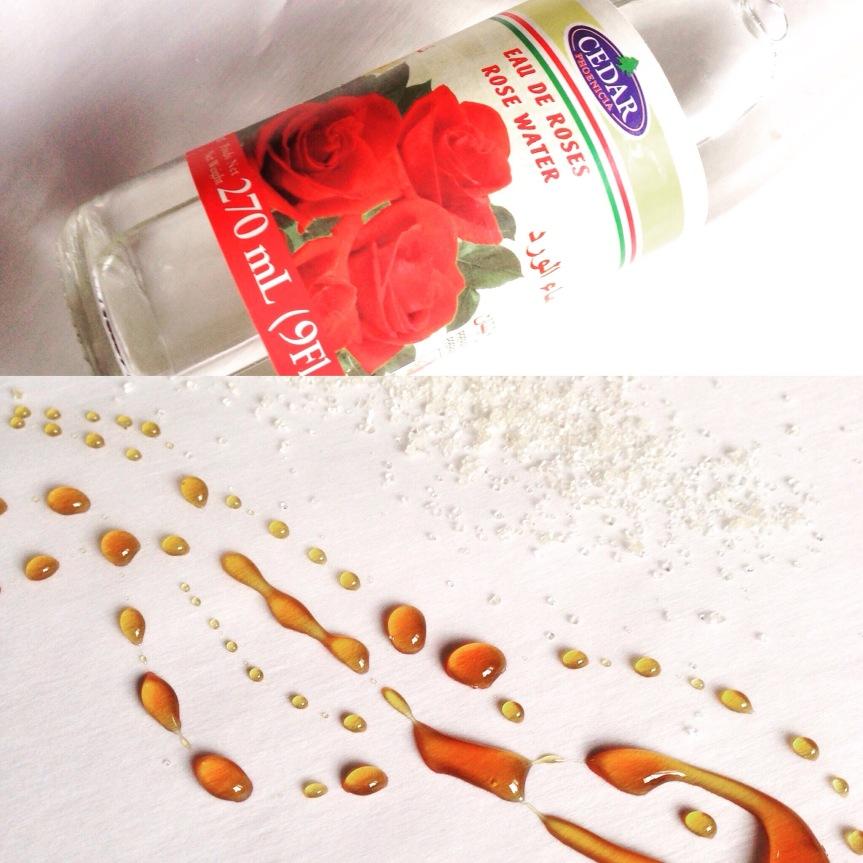 DIY Buckwheat Honey FaceScrub