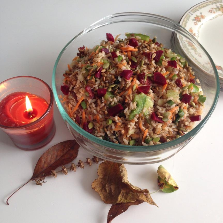 Brown Rice SaladRecipe