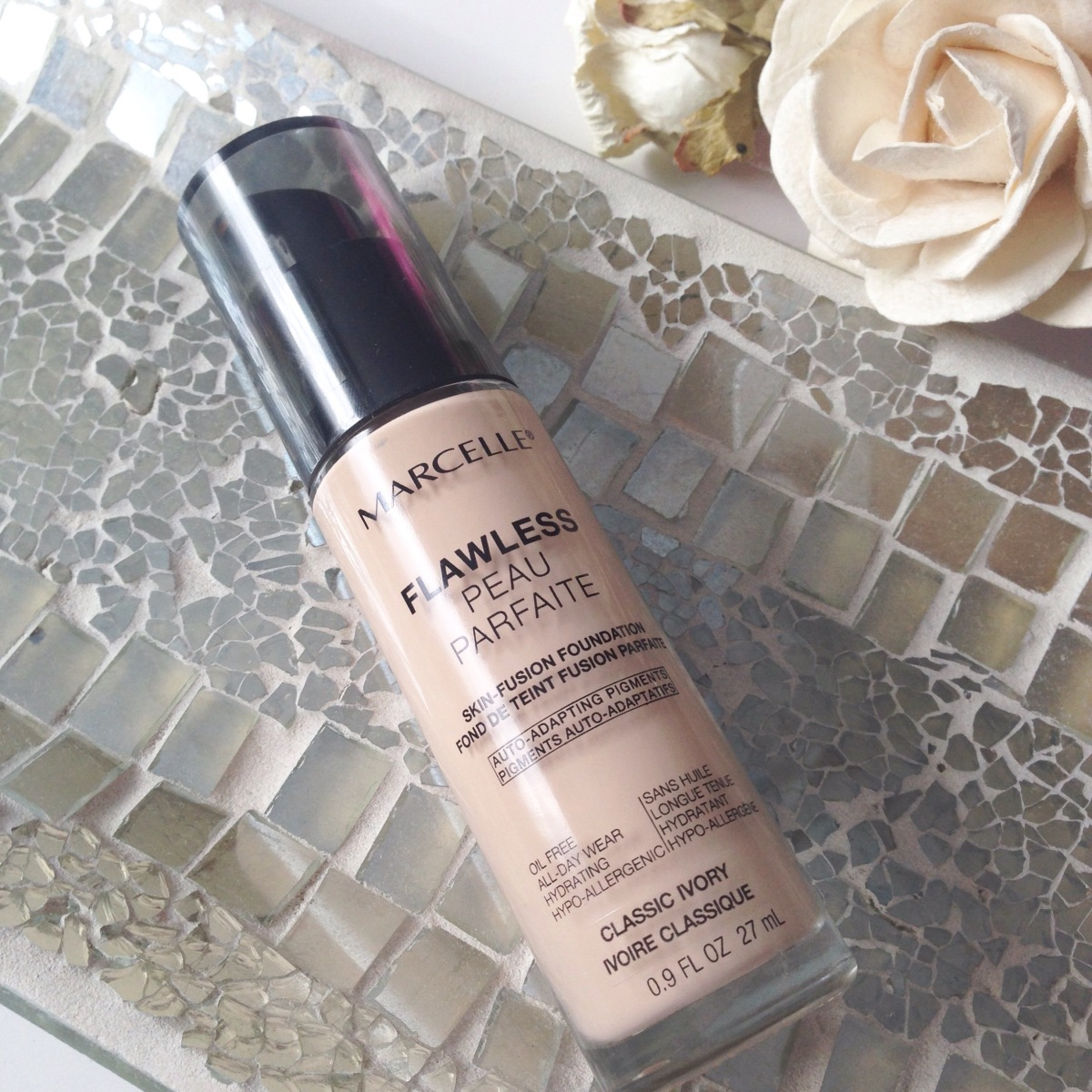 Marcelle Flawless Foundation - REVIEW