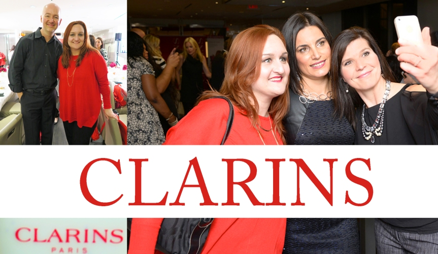 CLARINS VIP PARTY#ClarinsBeauty