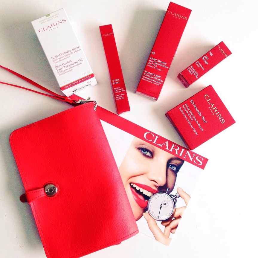 What's in my #clarinsbeauty Gift Bag