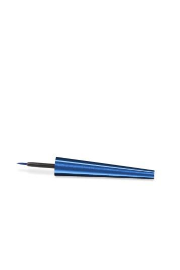 Waterproof Liquid Eyeliner_CAP & APPLICATOR - Blue Spark