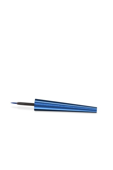 Waterproof Liquid Eyeliner_CAP & APPLICATOR - Blue Spark