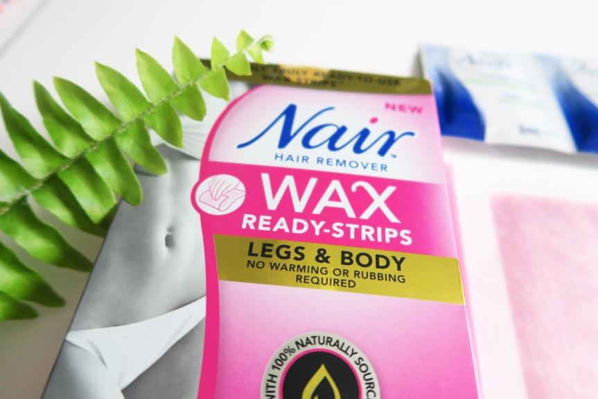 Nair Wax Ready Strips –REVIEW