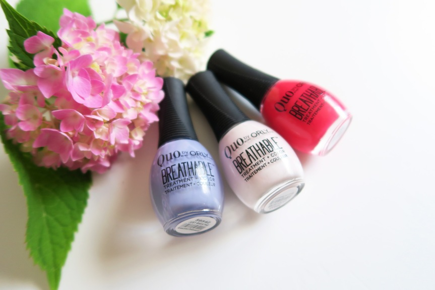 NEW! Quo by ORLY Breathable Treatment+Colour