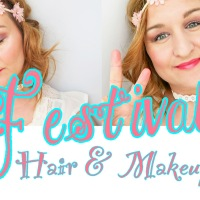 Festival Hair & Makeup Look