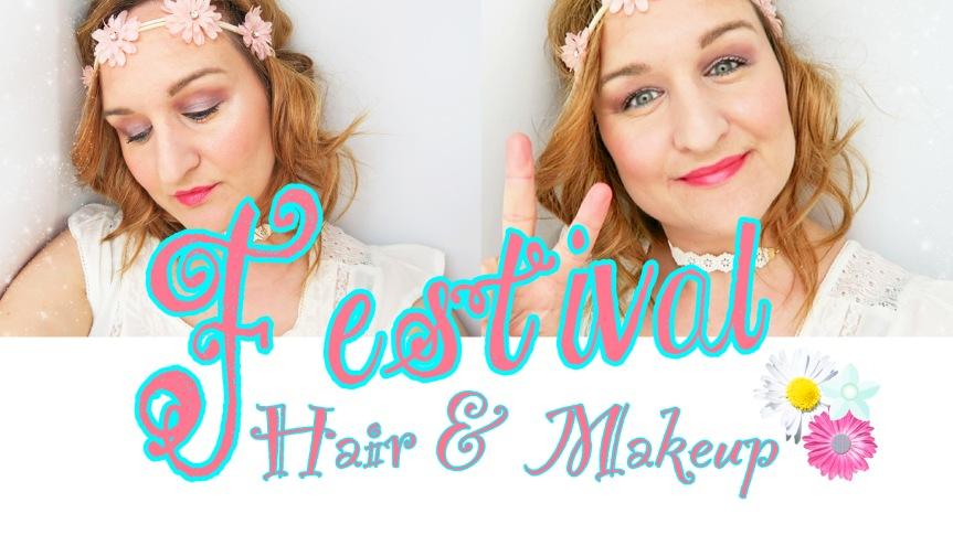 Festival Hair & MakeupLook