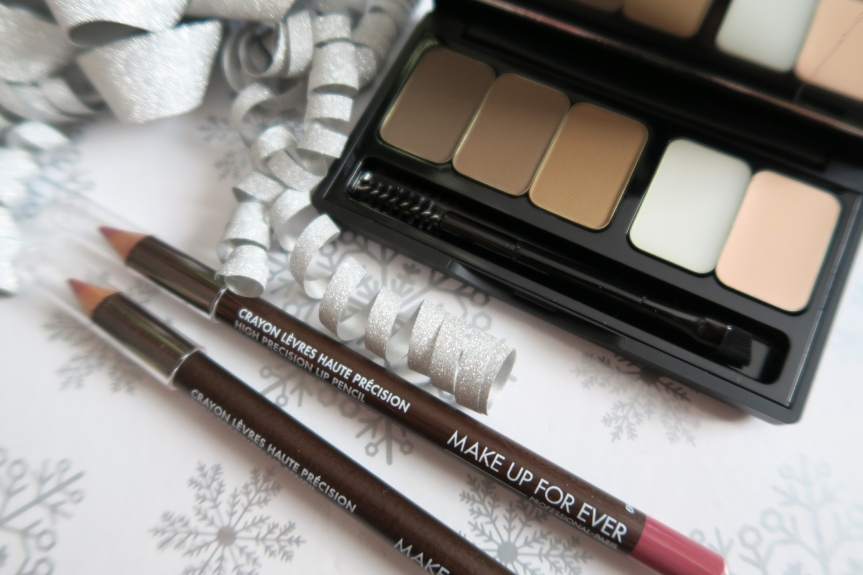 Make Up For Ever PRO Sculpting Brow Palette & High Precision LipPencils