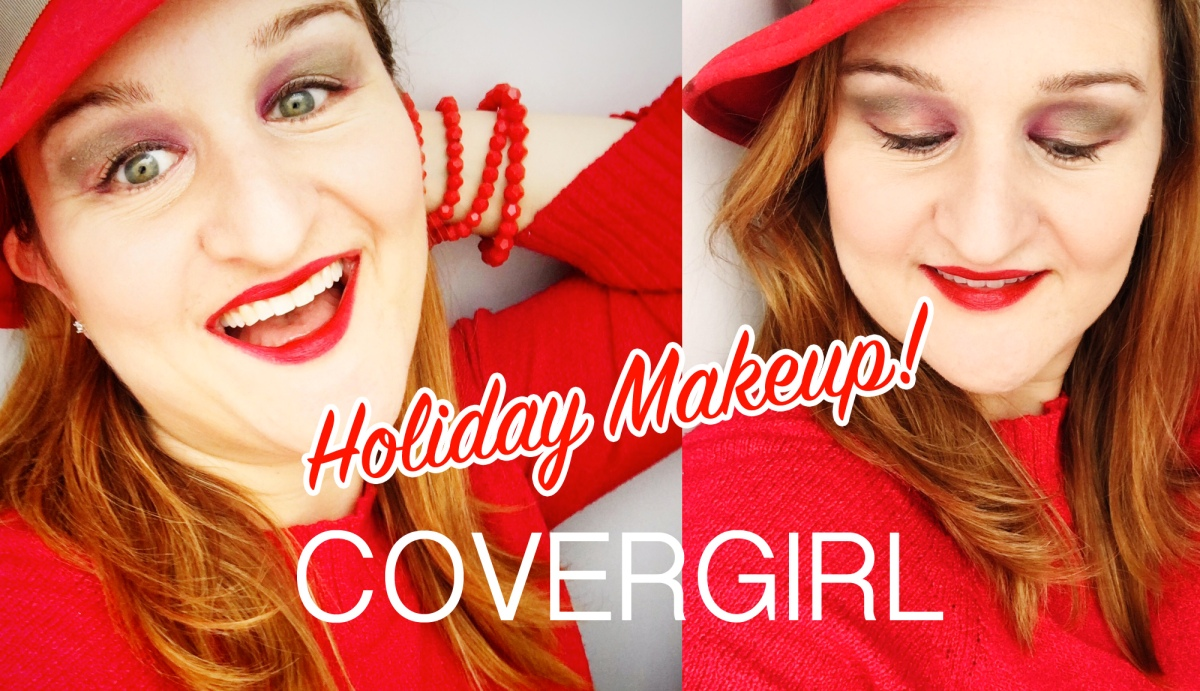 A Holiday Makeup Look with COVERGIRL!