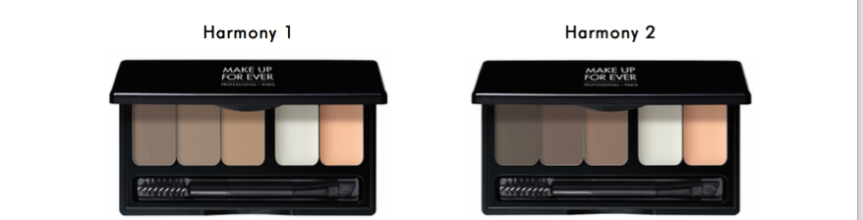 Make Up For Ever Pro Sculpting Brow Palette & High Precision Lip Pencils-INFO