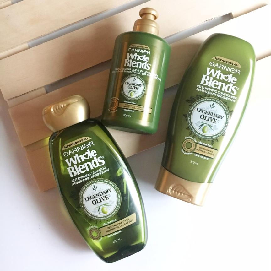 Garnier #NewWholeBlends Legendary Olive TrioREVIEW