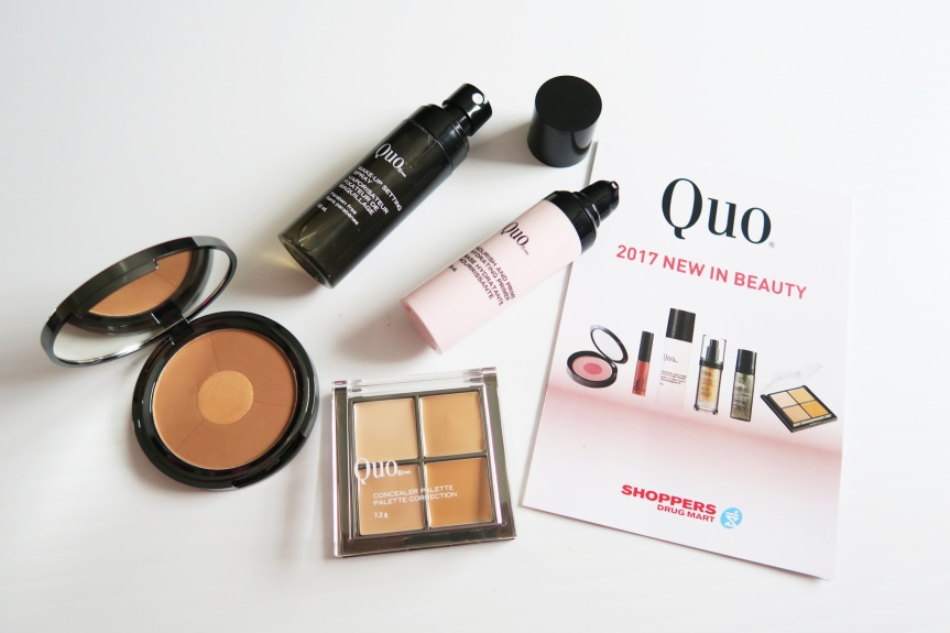 QUO COSMETICS NEW IN BEAUTY2017