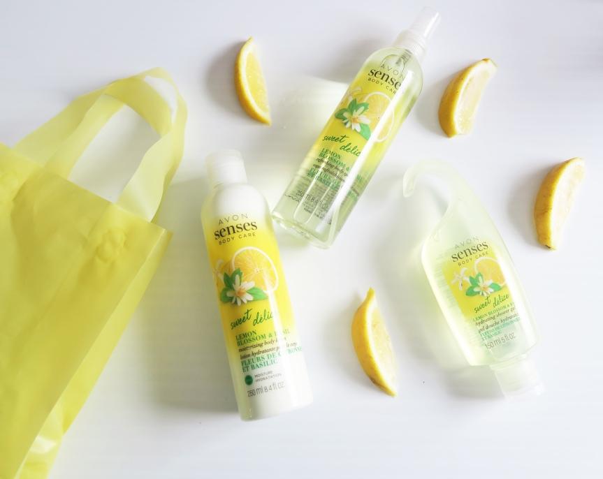 Refreshing and Invigorating! Avon Senses Body Care Sweet Lemon Blossom &Basil