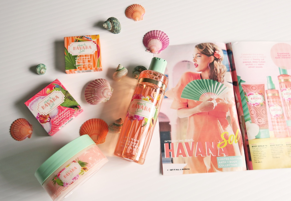 Escape to Paradise with Avon's Mark Limited Edition HAVANA Sol Collection! 2017