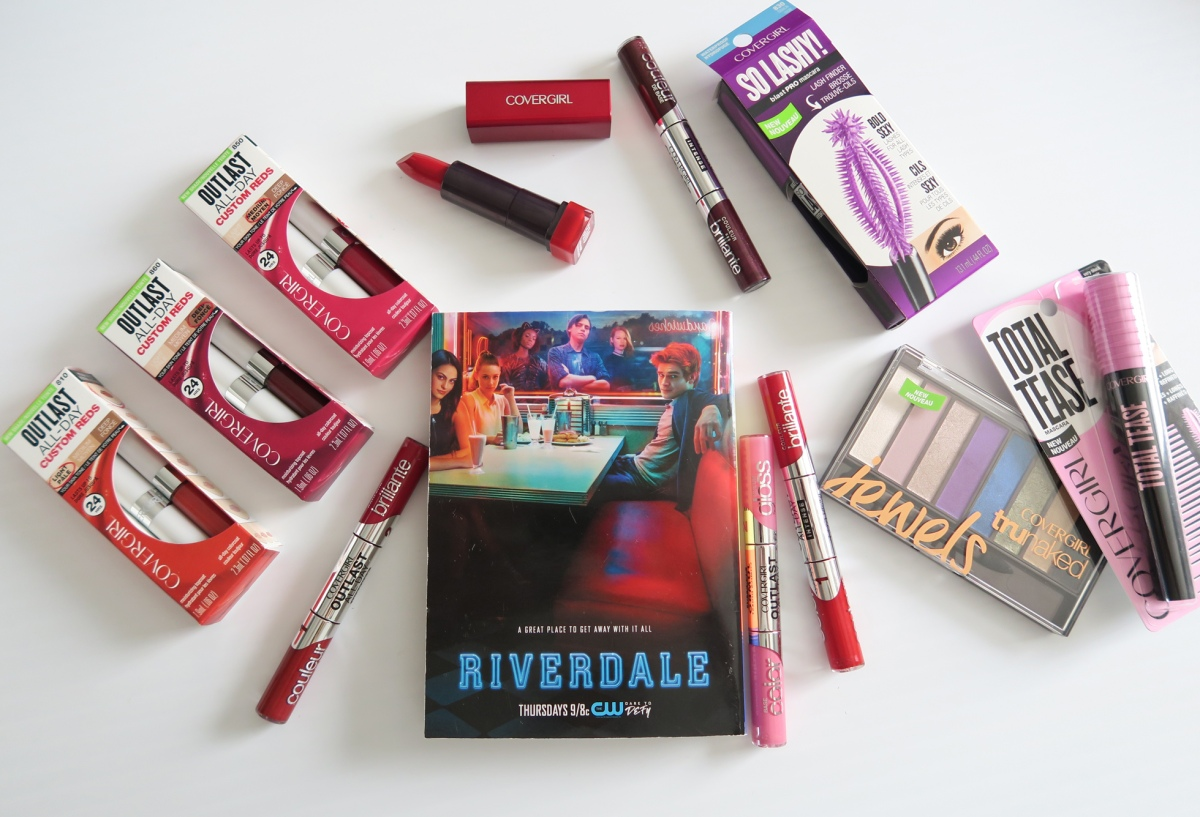 I Spy With My Little Eye COVERGIRL on RIVERDALE! Hot Show & Bold Makeup!