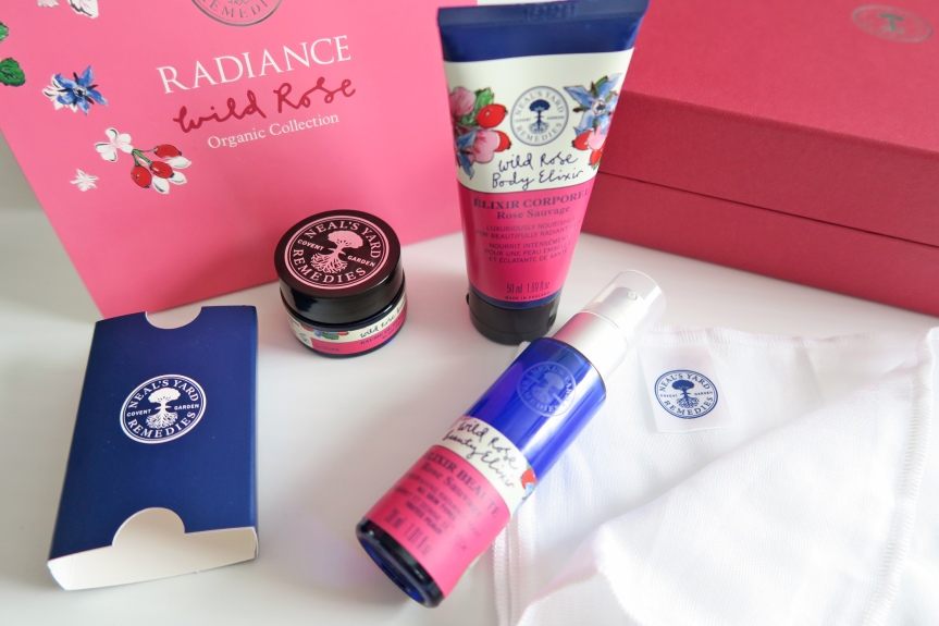 Neal's Yard Remedies Radiance Wild Rose  Organic Collection Made With Love!FEATURE