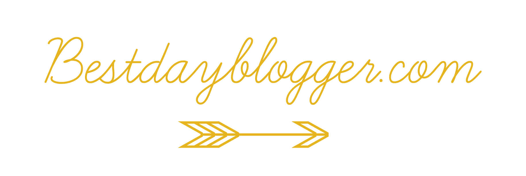 bestdayblogger.com banner gold