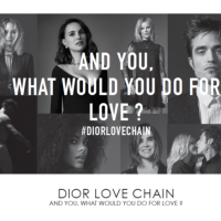 """and you, what would you do for love?"" #DIORLOVECHAIN INFO POST"