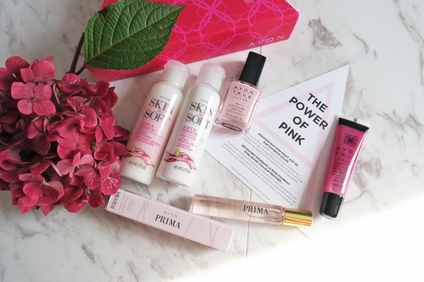 The Power of Pink Collection AVON#MyAvonABox