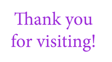 thank you purple