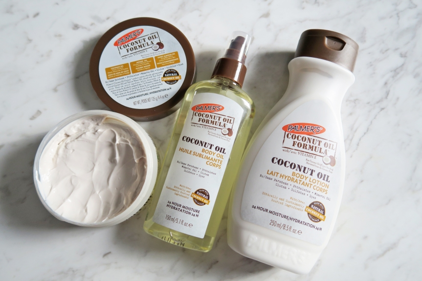 Winter Skincare with Palmer's Coconut Oil Formula and GIVEAWAY!#Palmers