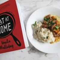 Eat At Home By Voula Halliday Cook Book FEATURE