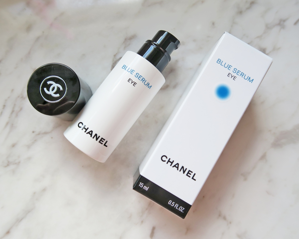 NEW! CHANEL BLUE SERUM EYE REVIEW