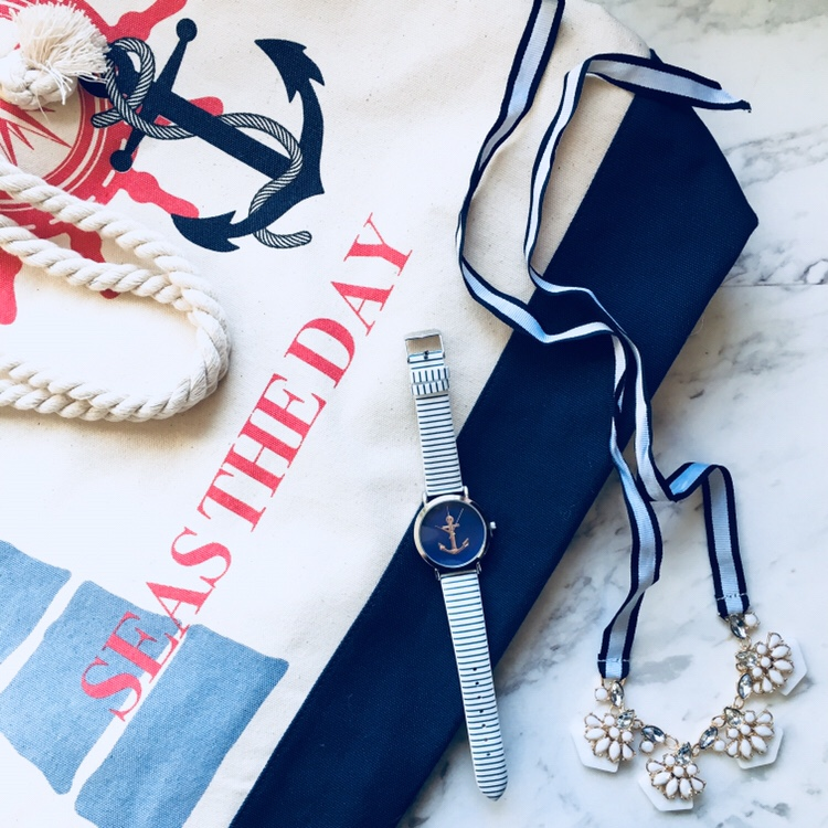 Seas The Day! How to Best Day a Nautical Collection Fashion & Style featAVON