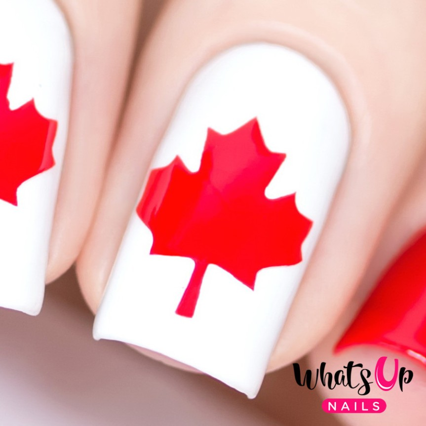 Get Your Free Canada Day NailVinyls!