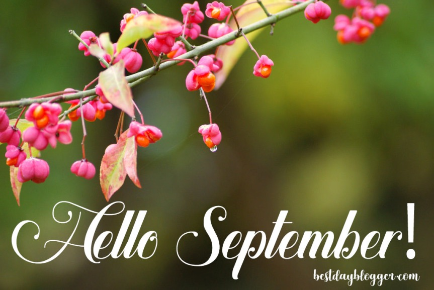 Hello September! Thoughts andGoals