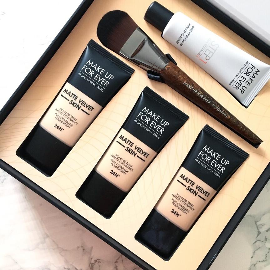 Make Up For Ever Matte Velvet Skin Foundation Review #NEWGENERATIONMATTE