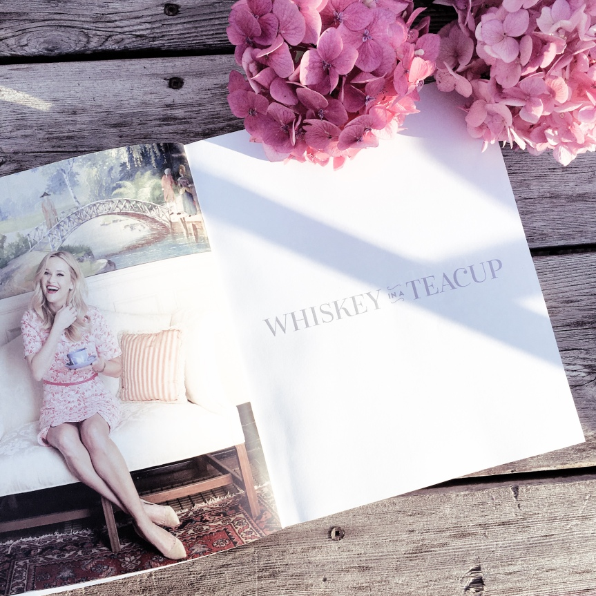 'Whiskey in a Tea Cup' by Reese Witherspoon Book & Tote Giveaway!#GIVEAWAY