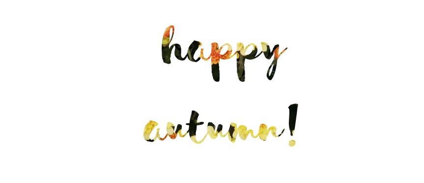 Happy Autumn Banner Bestdayblogger