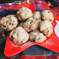 Orange Cranberry Holiday Cookies RECIPE