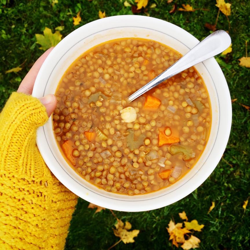 Lentil Soup –Recipe