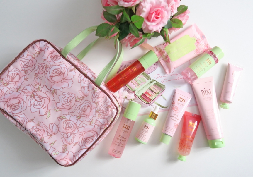 Bon Voyage! Pixi Beauty Rose Infused SkincareFavourites