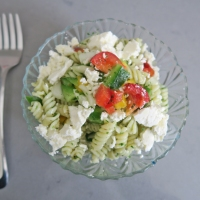 The Perfect Summer Fusilli Greek Salad RECIPE