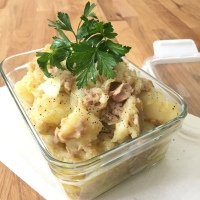 Easy Potato Tuna Salad Recipe