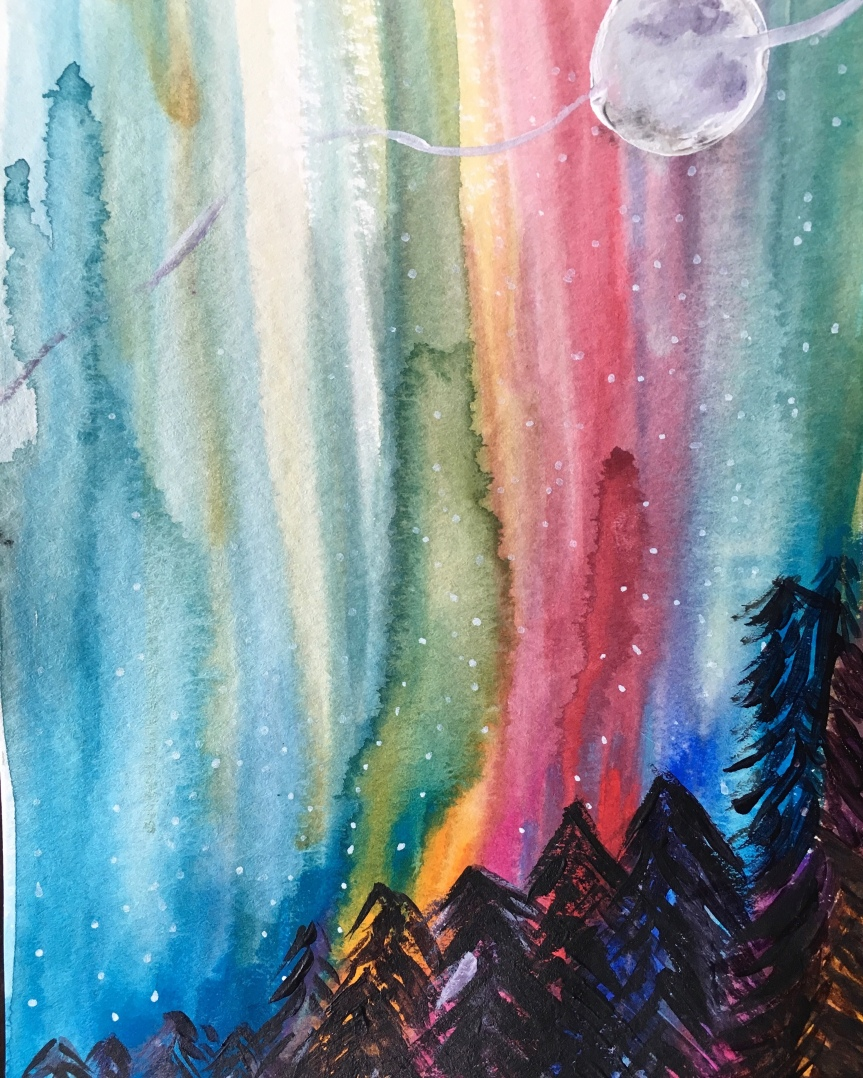Happy Friday! August ART Paint PartyFriday