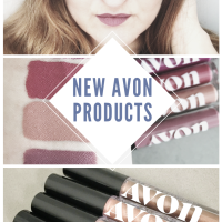 NEW AVON MAKEUP! Avon Lip and Eyeshadow Swatches