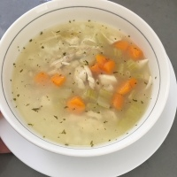 Chicken Lemon Veggie Soup Recipe