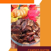 Candied Bacon Pecans RECIPE